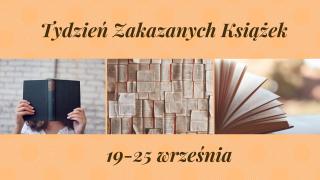 Tydzień Zakazanych Książek 19-25 września