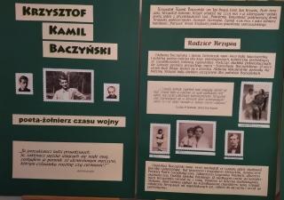 """""""Krzysztof Kamil Baczyński poeta - żołnierz czasu wojny"""""""